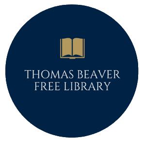 Thomas Beaver Free Library Round Logo