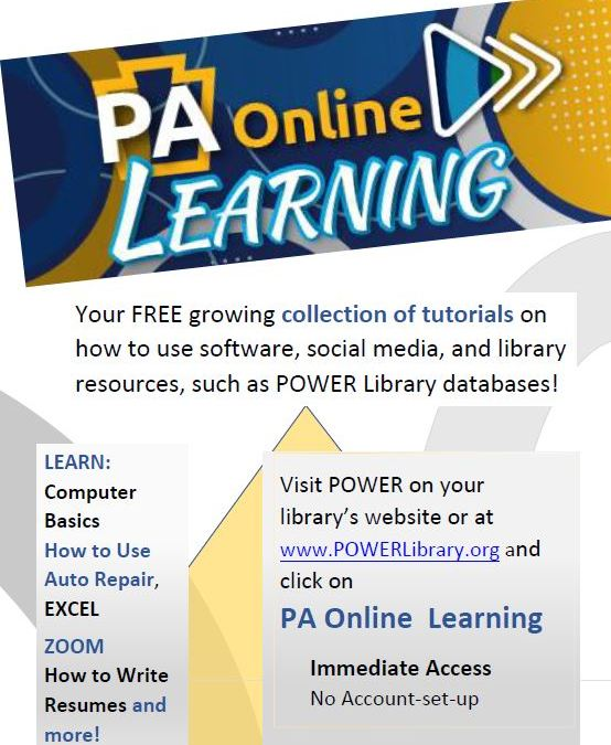 TBF Library - PA Online Learning