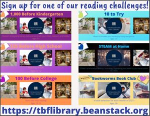 Join one of our Reading Challenges!