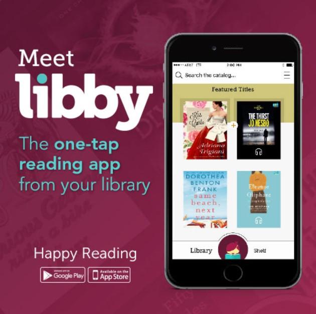 libby app banner